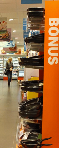Best practice - Supermarket Albert Heijn starts restocking at night